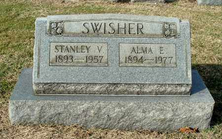 SWISHER, STANLEY V - Gallia County, Ohio | STANLEY V SWISHER - Ohio Gravestone Photos