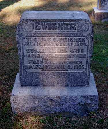 SWISHER, SUSAN A - Gallia County, Ohio | SUSAN A SWISHER - Ohio Gravestone Photos