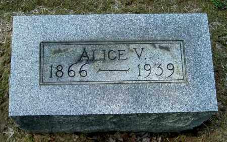 SWITZER, ALICE V - Gallia County, Ohio   ALICE V SWITZER - Ohio Gravestone Photos