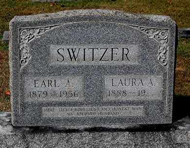 SWITZER, EARL A - Gallia County, Ohio | EARL A SWITZER - Ohio Gravestone Photos