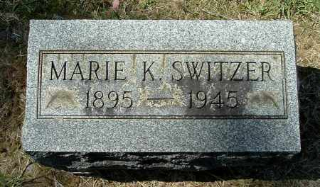 SWITZER, MARIE K - Gallia County, Ohio | MARIE K SWITZER - Ohio Gravestone Photos