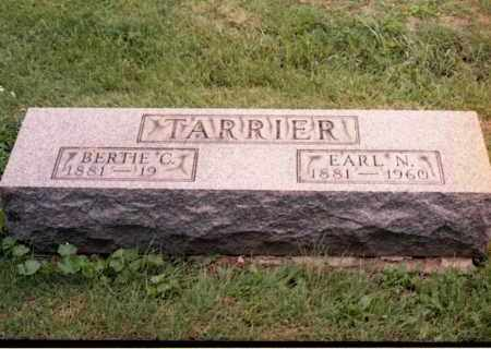 CUBBAGE TARRIER, BERTIE - Gallia County, Ohio | BERTIE CUBBAGE TARRIER - Ohio Gravestone Photos