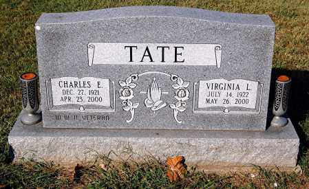 TATE, VIRGINIA L - Gallia County, Ohio | VIRGINIA L TATE - Ohio Gravestone Photos