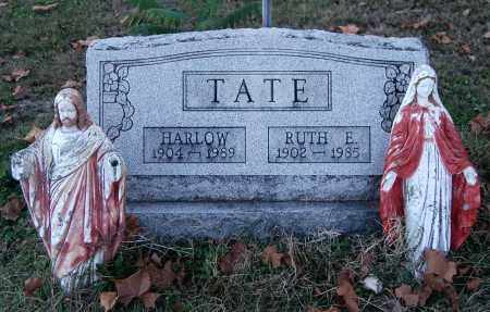 TATE, HARLOW - Gallia County, Ohio | HARLOW TATE - Ohio Gravestone Photos