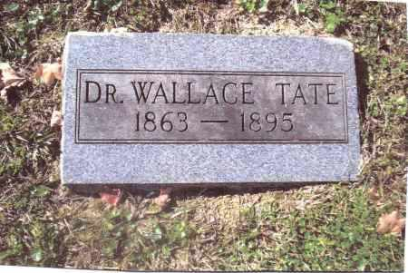 TATE, WALLACE - Gallia County, Ohio | WALLACE TATE - Ohio Gravestone Photos