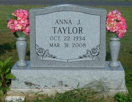 TAYLOR, ANNA J - Gallia County, Ohio | ANNA J TAYLOR - Ohio Gravestone Photos
