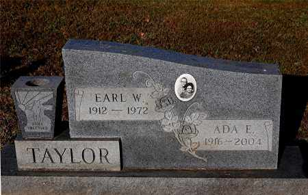 TAYLOR, EARL W - Gallia County, Ohio | EARL W TAYLOR - Ohio Gravestone Photos