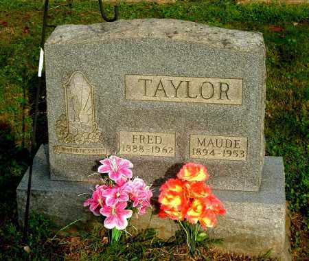 LEMLEY TAYLOR, MAUDE - Gallia County, Ohio | MAUDE LEMLEY TAYLOR - Ohio Gravestone Photos