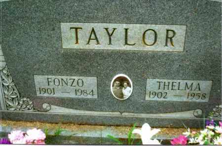 TAYLOR, FONZO - Gallia County, Ohio | FONZO TAYLOR - Ohio Gravestone Photos