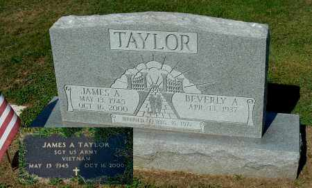 TAYLOR, JAMES A - Gallia County, Ohio | JAMES A TAYLOR - Ohio Gravestone Photos