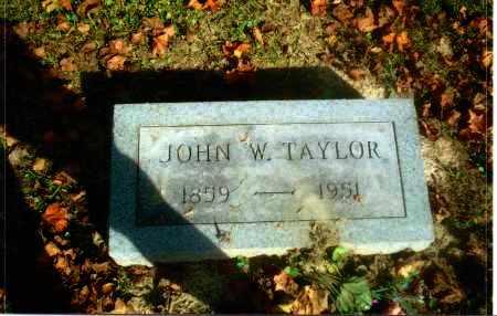 TAYLOR, JOHN W. - Gallia County, Ohio | JOHN W. TAYLOR - Ohio Gravestone Photos