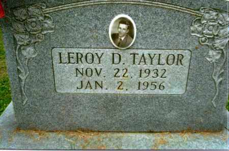 TAYLOR, LEROY D. - Gallia County, Ohio | LEROY D. TAYLOR - Ohio Gravestone Photos