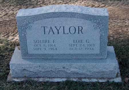 TAYLOR, LOIE G - Gallia County, Ohio | LOIE G TAYLOR - Ohio Gravestone Photos
