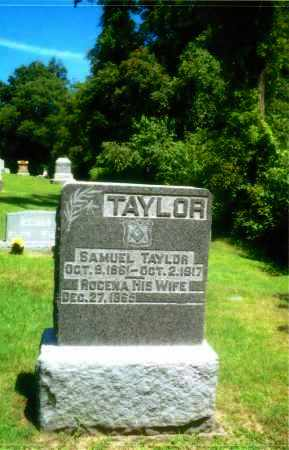 RUMFIELD TAYLOR, ROCENA - Gallia County, Ohio | ROCENA RUMFIELD TAYLOR - Ohio Gravestone Photos