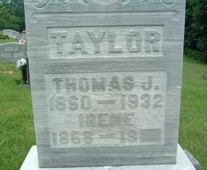 TAYLOR, IRENE - Gallia County, Ohio | IRENE TAYLOR - Ohio Gravestone Photos