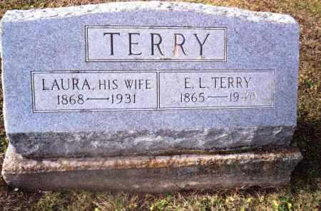 TERRY, E.L. - Gallia County, Ohio | E.L. TERRY - Ohio Gravestone Photos