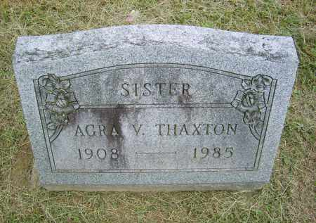 THAXTON, AGRA - Gallia County, Ohio | AGRA THAXTON - Ohio Gravestone Photos