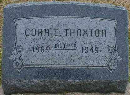RIFE THAXTON, CORA - Gallia County, Ohio | CORA RIFE THAXTON - Ohio Gravestone Photos