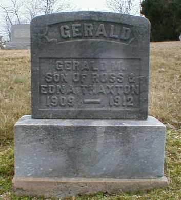 THAXTON, GERALD - Gallia County, Ohio | GERALD THAXTON - Ohio Gravestone Photos