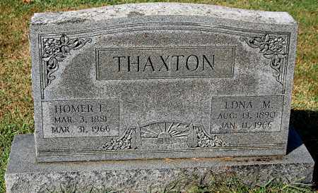 THAXTON, HOMER E - Gallia County, Ohio | HOMER E THAXTON - Ohio Gravestone Photos