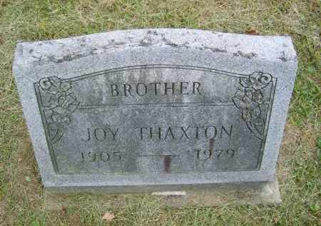 THAXTON, JOY - Gallia County, Ohio | JOY THAXTON - Ohio Gravestone Photos