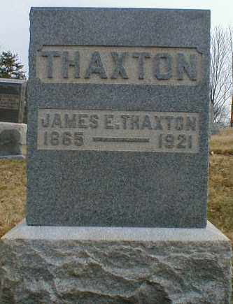 THAXTON, JAMES - Gallia County, Ohio | JAMES THAXTON - Ohio Gravestone Photos