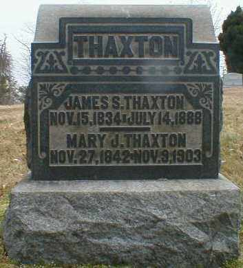 THAXTON, MARY - Gallia County, Ohio | MARY THAXTON - Ohio Gravestone Photos