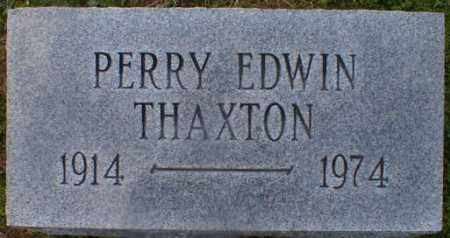 THAXTON, PERRY - Gallia County, Ohio | PERRY THAXTON - Ohio Gravestone Photos