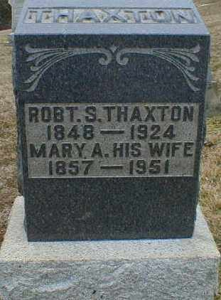 THAXTON, ROBERT - Gallia County, Ohio | ROBERT THAXTON - Ohio Gravestone Photos
