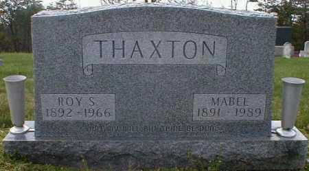 THAXTON, MABEL - Gallia County, Ohio | MABEL THAXTON - Ohio Gravestone Photos
