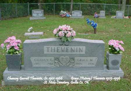 THEVENIN, CHANCY GARRETT - Gallia County, Ohio | CHANCY GARRETT THEVENIN - Ohio Gravestone Photos