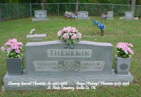 THEVENIN, GRACE MAE - Gallia County, Ohio | GRACE MAE THEVENIN - Ohio Gravestone Photos
