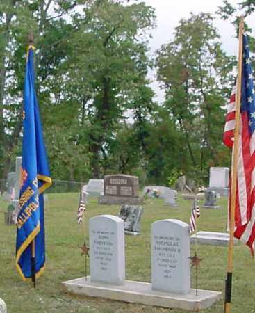 THEVENIN, JOHN - Gallia County, Ohio | JOHN THEVENIN - Ohio Gravestone Photos