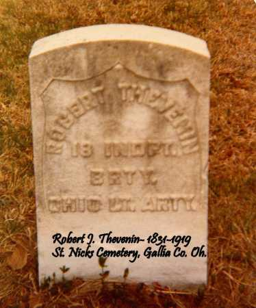 THEVENIN, ROBERT J. - Gallia County, Ohio | ROBERT J. THEVENIN - Ohio Gravestone Photos