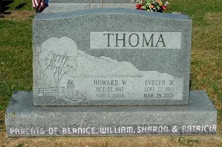 THOMA, EVELYN M - Gallia County, Ohio | EVELYN M THOMA - Ohio Gravestone Photos