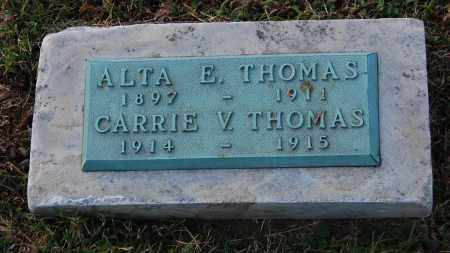 THOMAS, ALTA E - Gallia County, Ohio | ALTA E THOMAS - Ohio Gravestone Photos