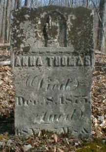 THOMAS, ANNA - Gallia County, Ohio | ANNA THOMAS - Ohio Gravestone Photos