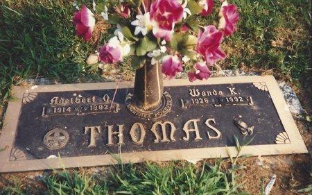 THOMAS, WANDA KATHLEEN - Gallia County, Ohio | WANDA KATHLEEN THOMAS - Ohio Gravestone Photos