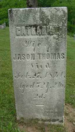 HYSELL THOMAS, CATHERINE - Gallia County, Ohio | CATHERINE HYSELL THOMAS - Ohio Gravestone Photos