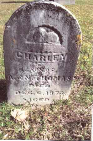 THOMAS, CHARLEY - Gallia County, Ohio | CHARLEY THOMAS - Ohio Gravestone Photos