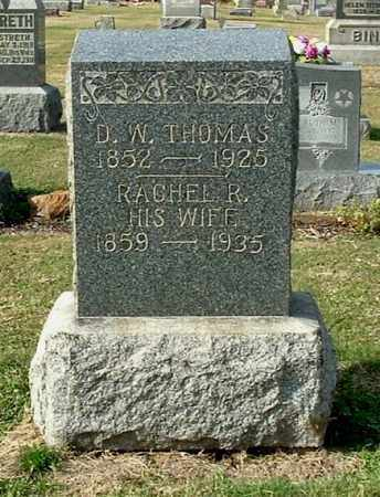LEE THOMAS, RACHEL R - Gallia County, Ohio | RACHEL R LEE THOMAS - Ohio Gravestone Photos