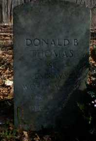 THOMAS, DONALD - Gallia County, Ohio | DONALD THOMAS - Ohio Gravestone Photos