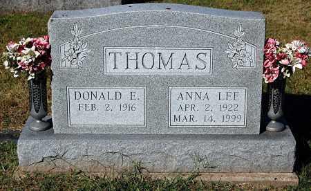 THOMAS, DONALD E - Gallia County, Ohio | DONALD E THOMAS - Ohio Gravestone Photos