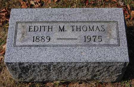 THOMAS, EDITH M - Gallia County, Ohio | EDITH M THOMAS - Ohio Gravestone Photos