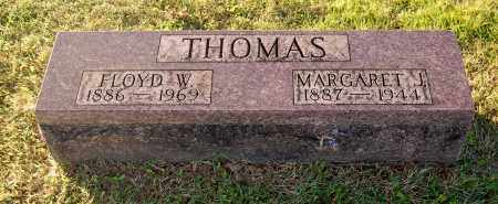BURKE THOMAS, MARGARET J - Gallia County, Ohio | MARGARET J BURKE THOMAS - Ohio Gravestone Photos