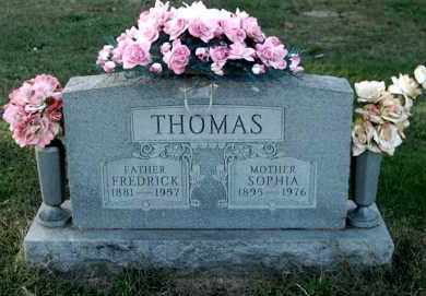 THOMAS, FREDRICK - Gallia County, Ohio | FREDRICK THOMAS - Ohio Gravestone Photos