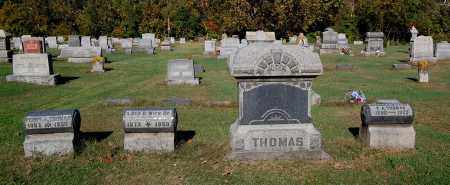 THOMAS, FAMILY GROUPING - Gallia County, Ohio | FAMILY GROUPING THOMAS - Ohio Gravestone Photos