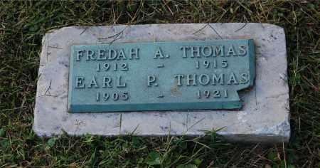 THOMAS, FREDAH A - Gallia County, Ohio | FREDAH A THOMAS - Ohio Gravestone Photos