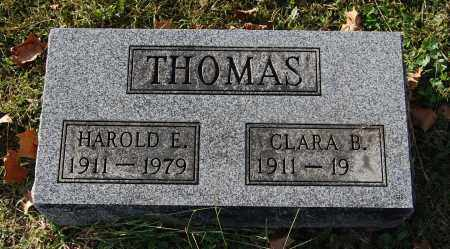 THOMAS, HAROLD E - Gallia County, Ohio | HAROLD E THOMAS - Ohio Gravestone Photos
