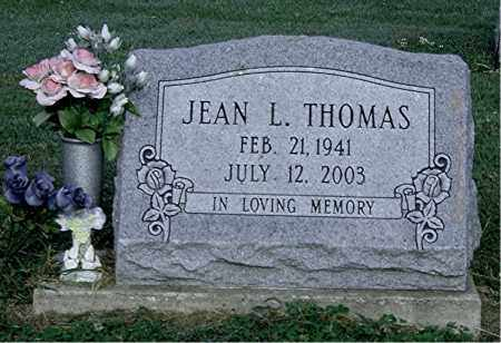 THOMAS, JEAN L - Gallia County, Ohio | JEAN L THOMAS - Ohio Gravestone Photos